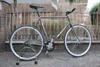 Restauro bicicletta Bianchi singlespeed