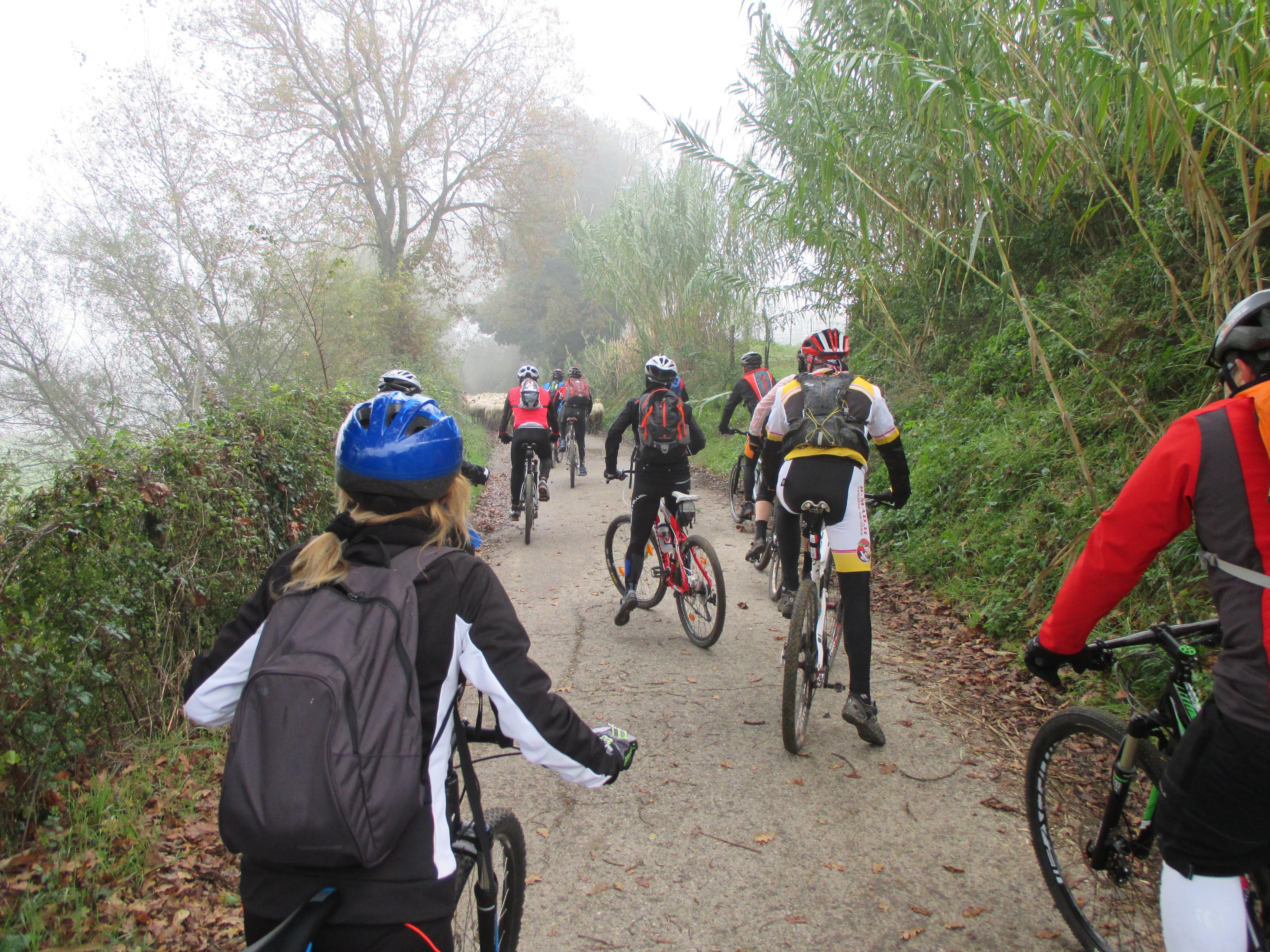 Escursione CicloLAB -  Tevere-Farfa