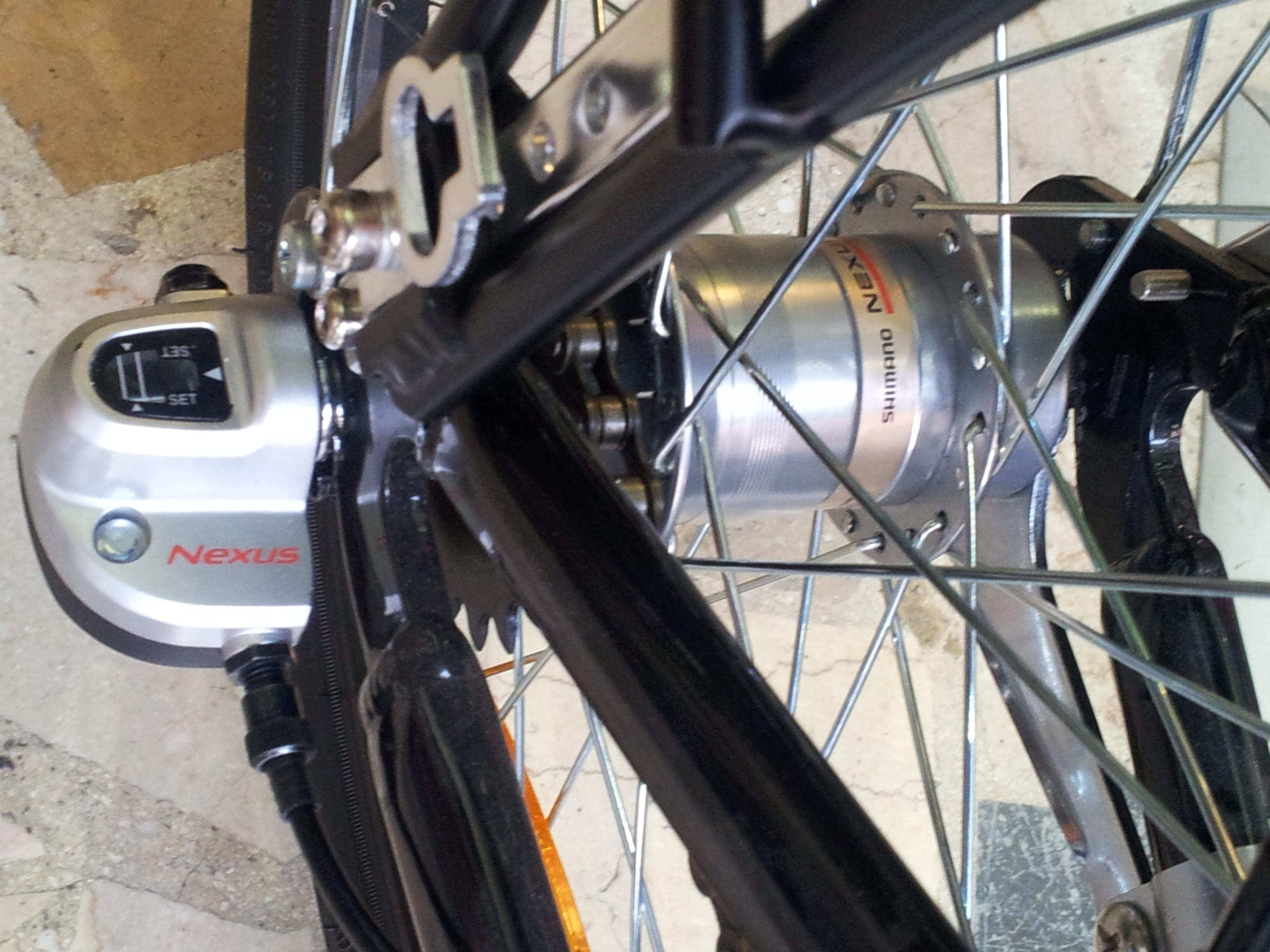 Cambio 3V + freno pedale by CicloLAB