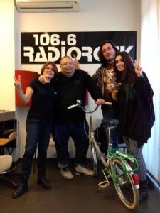 CicloLAB a Radio Rock