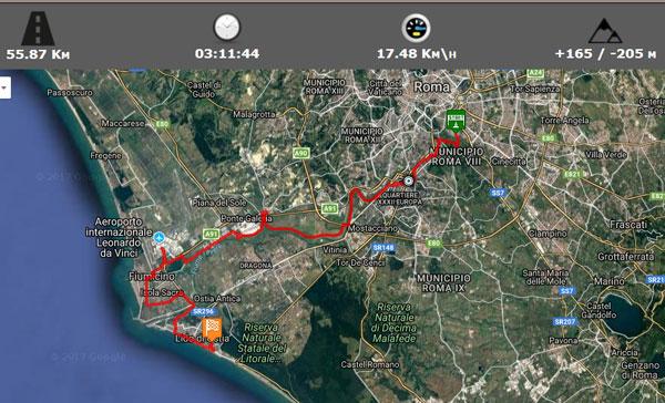 Escursione_CicloLAB_Roma_Fiumicino_Foto_indicativa_Mappa