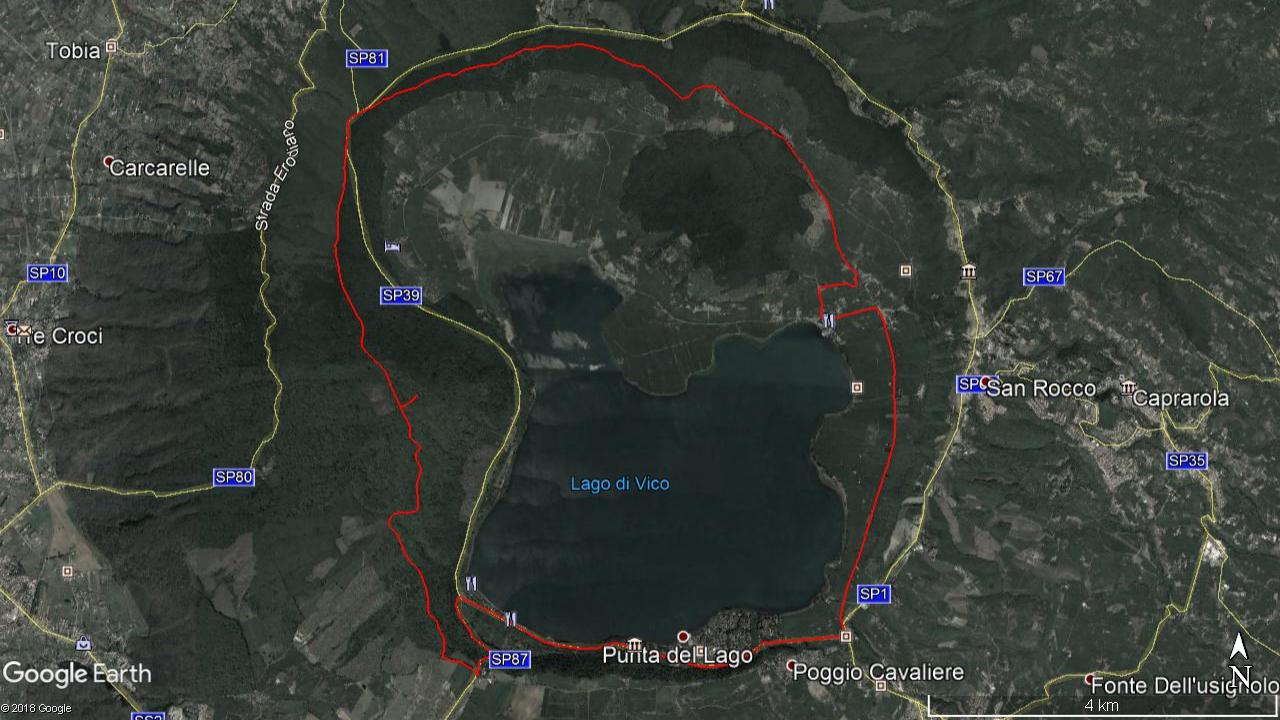Escursione_CicloLAB_Lago_di_Vico_Mappa