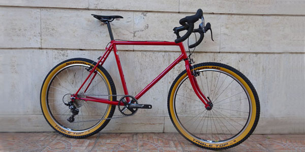 Monster Cross Bike. Fuoriserie realizzata da CicloLAB