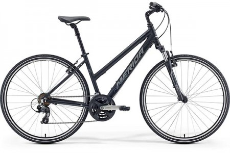 MERIDA CROSSWAY 10-V/LADY MATT BLACK