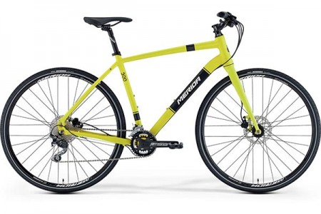 MERIDA CROSSWAY URBAN 300 SILK YELLOW