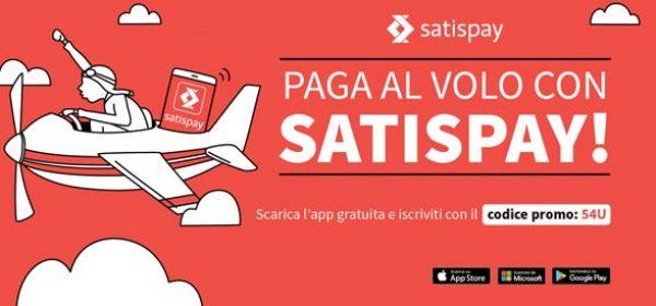 Fai i tuoi acquisti e paga con Satispay!